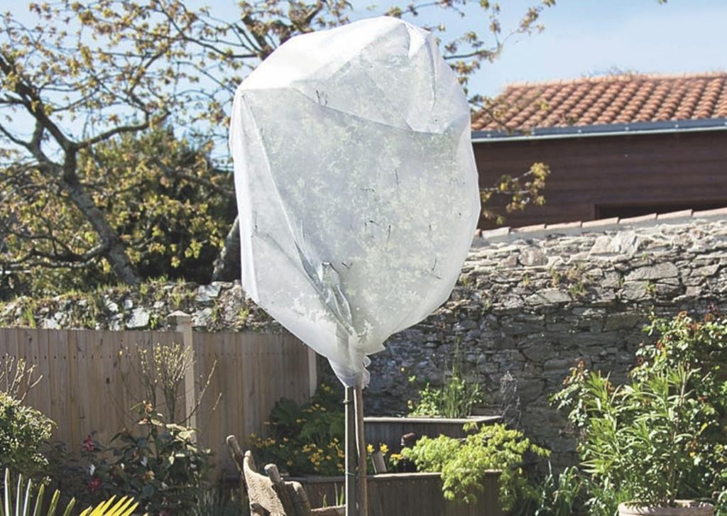 Intermas Wintertex 50 nem szőtt textília növények fagykár elleni védelmére 1,6 x 5 m